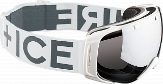 Fire+Ice Ski-Brille Plus White